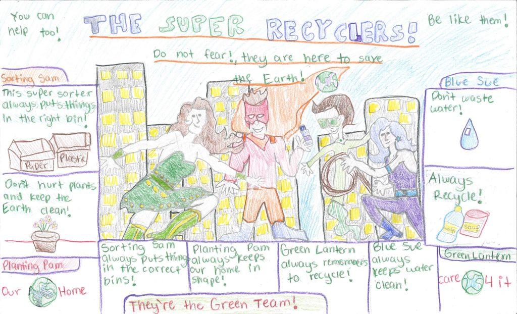 2014 Poster Contest Winner: Ella Galli St. Catherine of Sienna 5th grade