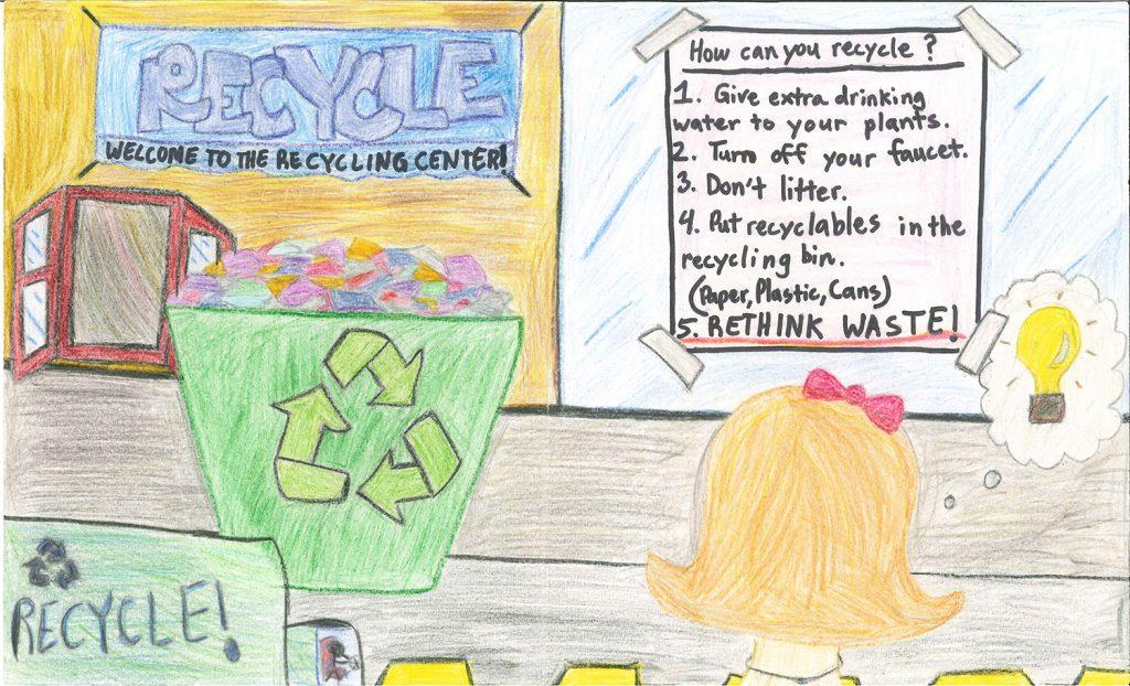 2014 Poster Contest Winner: Michele Hratko, Belmont Oaks Academy, 4th grade