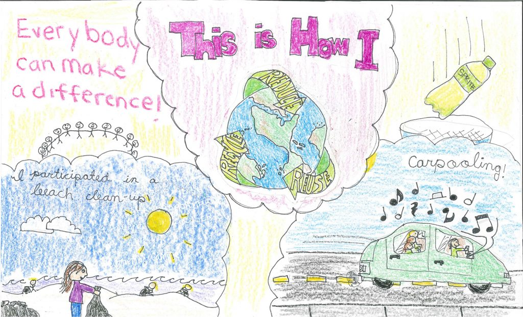 2014 Poster Contest Winner: Samantha Andrea Campbell, Centra Middle School, 6th grade