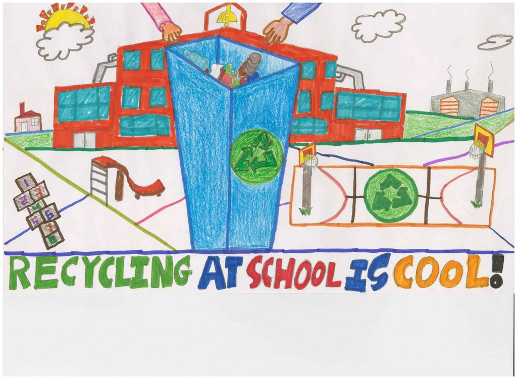 2015 Poster Contest Winner: Nicolas Gibson, Out Lady of Mt Carmel, 6th grade