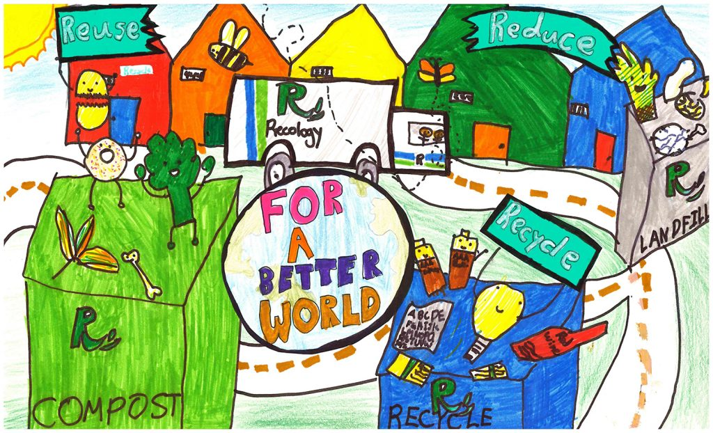2016 Poster Contest Winner: Kaitlin Tan, George Hall, 4th grade