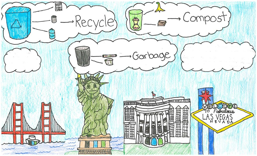 2016 Poster Contest Winner: Kathleen Suayan, Our Lady of Mt Carmel, 5th grade