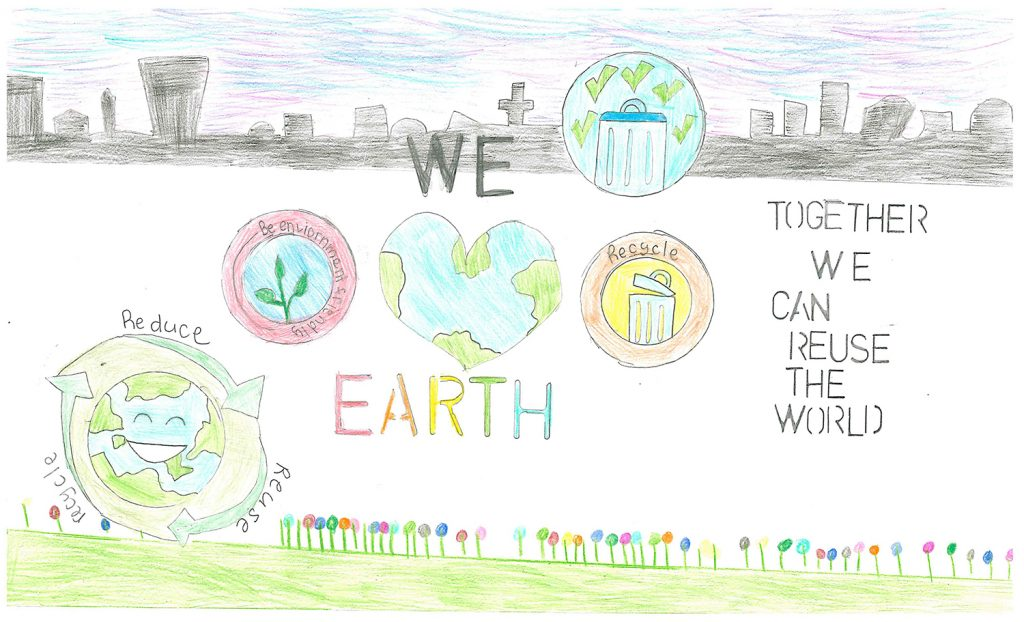 2017 Poster Contest 2nd Place: Thalia Cheung, Belmont Oaks, 4th grade