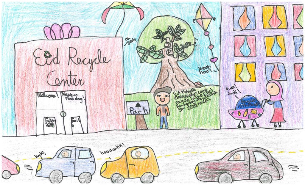 2018 Poster Contest 2nd Place: Heayam A, Brewer Island, 5th grade