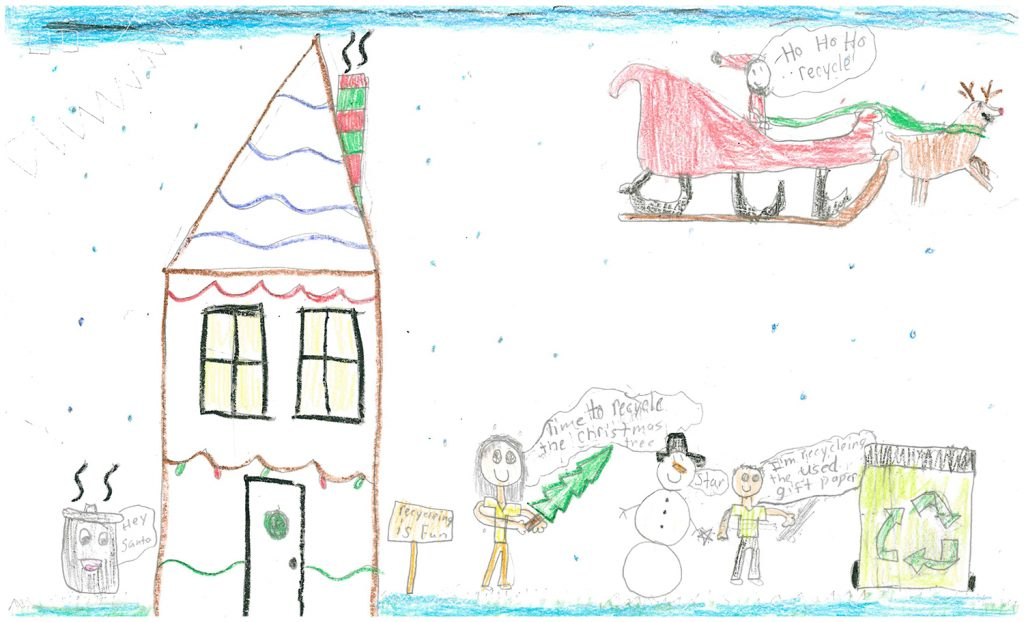 2018 Poster Contest 3rd Place: Reyna S, Park Elementary, 3rd grade
